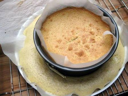Gâteau magique râpé